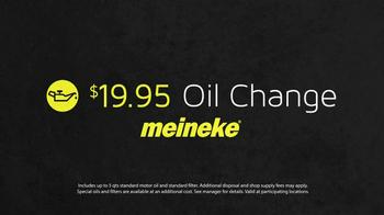 Meineke Oil Change TV Spot, '$19.95' - Thumbnail 10