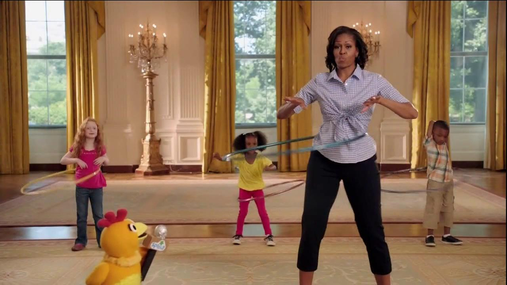 Sprout Channel TV Commercial, 'Let's Move' Featuring Michelle Obama