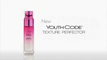Loreal Paris Youth Code Texture Perfector TV Spot, 'A New Level of Skin Quality' - Thumbnail 4
