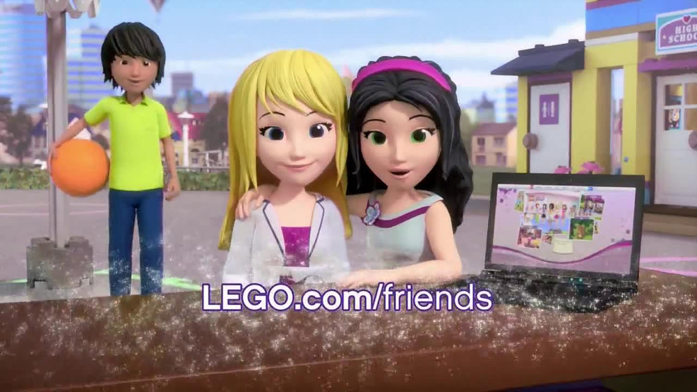 Lego Friends Heatlake City High Tv Commercial School Ispottv