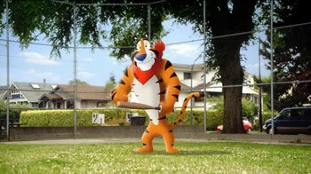 Frosted Flakes TV Spot, 'Catch with Dad' - Thumbnail 3