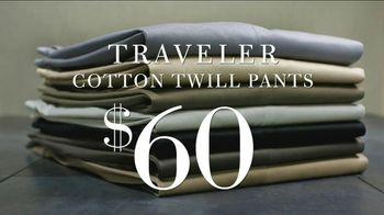 JoS. A. Bank TV Spot, 'Traveler Cotton Twill Pants'