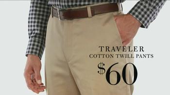 JoS. A. Bank TV Spot, 'Traveler Cotton Twill Pants' - Thumbnail 8