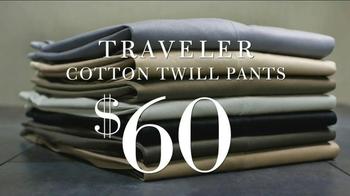 JoS. A. Bank TV Spot, 'Traveler Cotton Twill Pants' - Thumbnail 5