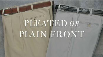 JoS. A. Bank TV Spot, 'Traveler Cotton Twill Pants' - Thumbnail 7