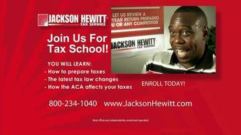 Jackson Hewitt Tax School TV Spot