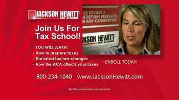Jackson Hewitt Tax School TV Spot - Thumbnail 8