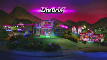 Cra-Z-Art Lite Brix Sunset Island TV Spot - Thumbnail 1