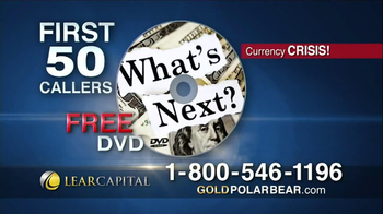 Lear Capital Gold Polar Bear TV Spot - Thumbnail 10