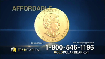 Lear Capital Gold Polar Bear TV Spot - Thumbnail 5