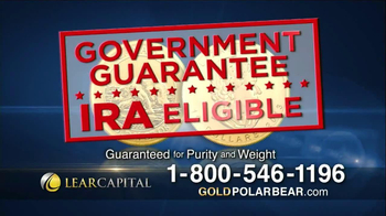 Lear Capital Gold Polar Bear TV Spot - Thumbnail 6