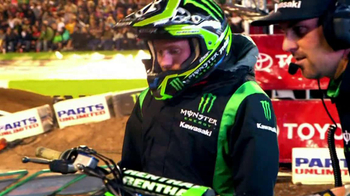 Kawasaki KX 450F TV Spot Featuring Ryan Villopoto - 74 commercial airings