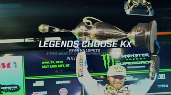 Kawasaki KX 450F TV Spot Featuring Ryan Villopoto - Thumbnail 8