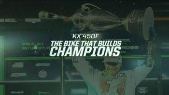 Kawasaki KX 450F TV Spot Featuring Ryan Villopoto - Thumbnail 9