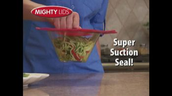 Mighty Lids TV Spot - 3 commercial airings