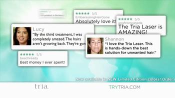 Tria Hair Removal Laser 4X TV Spot - Thumbnail 1