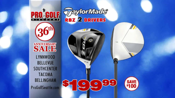 Pro Golf Discount 36th Anniversary Sale TV Spot, 'Taylor Made' - Thumbnail 4