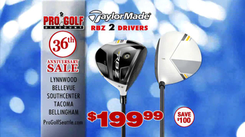 Pro Golf Discount 36th Anniversary Sale TV Spot, 'Taylor Made' - Thumbnail 5
