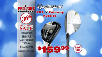 Pro Golf Discount 36th Anniversary Sale TV Spot, 'Taylor Made' - Thumbnail 8