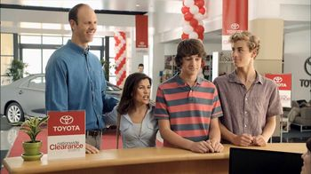 Toyota Nationwide Clearance Event TV Spot, 'Growing Boys' - 398 commercial airings
