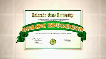 Colorado State University  Online Plus TV Spot, 'One Day' - Thumbnail 6