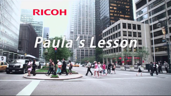 Ricoh TV Spot, 'Paula's Lesson: Play Smart' - Thumbnail 1