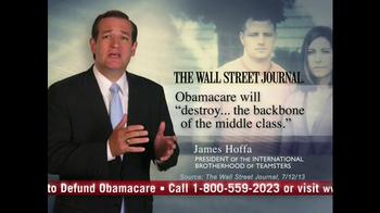 Senate Conservatives Fund TV Spot, 'Don't Fund Obama Care' - Thumbnail 2