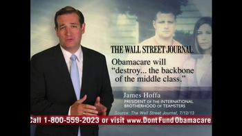 Senate Conservatives Fund TV Spot, 'Don't Fund Obama Care' - Thumbnail 3