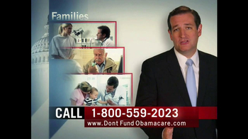 Senate Conservatives Fund TV Spot, 'Don't Fund Obama Care' - Thumbnail 5