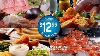 Golden Corral Prime Rib & Shrimp Weekend TV Spot - Thumbnail 10