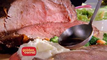 Golden Corral Prime Rib & Shrimp Weekend TV Spot - Thumbnail 4