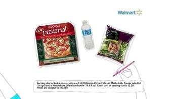 Walmart TV Spot, 'Pizza Dinner Savings' - Thumbnail 4