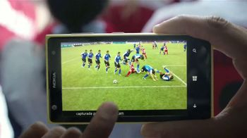 Microsoft Windows Phone Nokia Lumia 1020 TV Spot, 'Fútbol' [Spanish] - Thumbnail 4