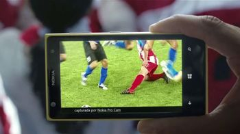 Microsoft Windows Phone Nokia Lumia 1020 TV Spot, 'Fútbol' [Spanish] - Thumbnail 5