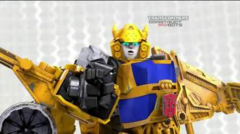 Hasbro Transformers Construct Bots TV Spot