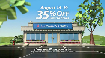 Sherwin-Williams Love for Color Anniversary Sale TV Spot, 'August 2013' - Thumbnail 9
