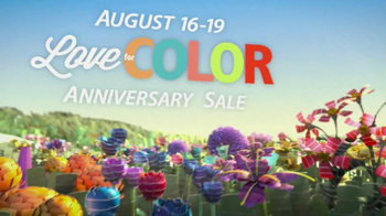 Sherwin-Williams Love for Color Anniversary Sale TV Spot, 'August 2013' - Thumbnail 3