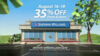 Sherwin-Williams Love for Color Anniversary Sale TV Spot, 'August 2013' - Thumbnail 8