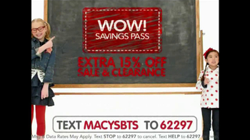 Macy's Back to School Sale TV Spot, 'All Styles' - Thumbnail 7