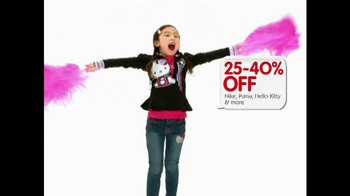 Macy's Back to School Sale TV Spot, 'All Styles' - 130 commercial airings