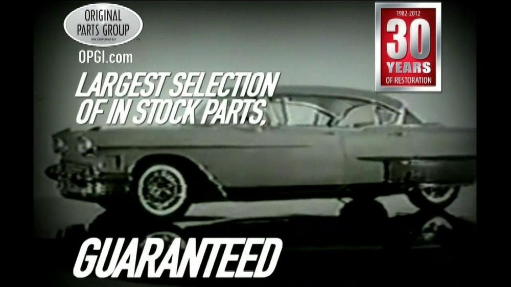 OPGI Original Parts Group Inc TV Commercial, 'Cadillac'