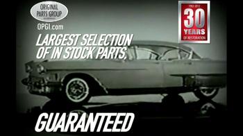 OPGI Original Parts Group Inc TV Spot, 'Cadillac'