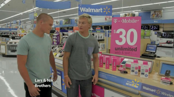 Walmart TV Spot, \'Lars and Nik\'