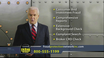 Fraud Protection Network Inc TV Spot - Thumbnail 8