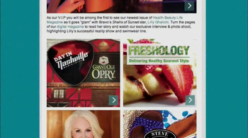 Health Beauty Life Magazine TV Spot - Thumbnail 6