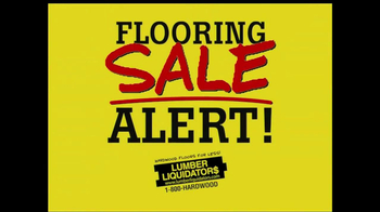 Lumber Liquidators Flooring Sale Alert TV Spot - Thumbnail 1