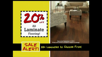Lumber Liquidators Flooring Sale Alert TV Spot - Thumbnail 4