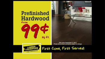 Lumber Liquidators Flooring Sale Alert TV Spot - Thumbnail 5