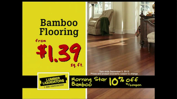 Lumber Liquidators Flooring Sale Alert TV Spot - Thumbnail 6