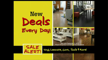 Lumber Liquidators Flooring Sale Alert TV Spot - Thumbnail 9